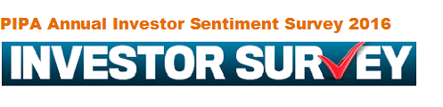 PIPA 2016 Annual Investor Sentiment Survey logo without PIPA logo