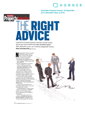 The Right Advice page 1